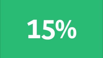 15% Building Materials