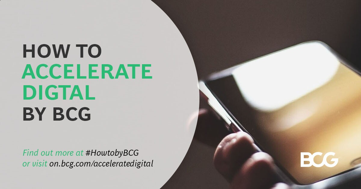 How to Accelerate Digital