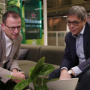 Brewing an Agile Transformation at Heineken - An Interview with Heineken Global Information Services' Ing Yan Ong and Luca Cutolo