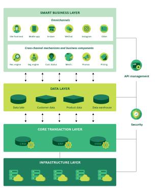 Digital Platform Infographic