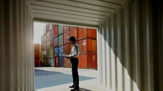 Container Demand and Supply Forecaster Hero