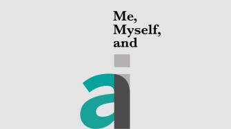 Me, Myself, and AI Podcast Still