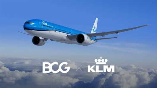 BCG and KLM Bring AI to Life in Airline Operations